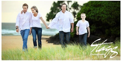 Family Portrait Sessions - Book now for pre-Christmas