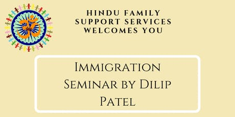Immigration Seminar By Dilip Patel tickets