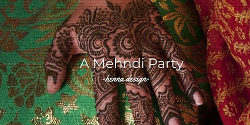 A Mehndi party  [HENNA FESTIVAL AT ROCK'N JOE UNION]