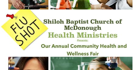Community Health Fair @ Shiloh Baptist Church in McDonough, Ga tickets