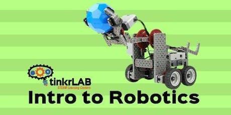 Intro to Robotics - 3 Week Series tickets
