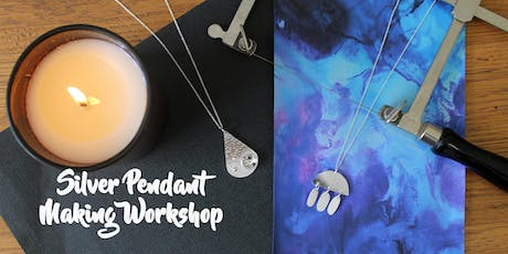 Silver Pendant Making Workshop tickets