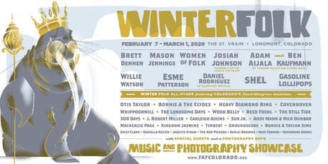 WINTER FOLK					 Music & Photography  Showcase tickets