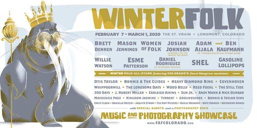WINTER FOLK                     Music & Photography  Showcase