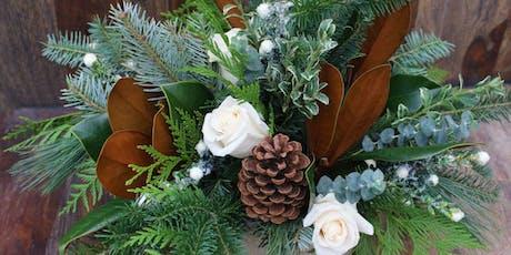 Fresh Centerpiece Winter Arrangement Workshop tickets