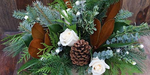 Fresh Centerpiece Winter Arrangement Workshop