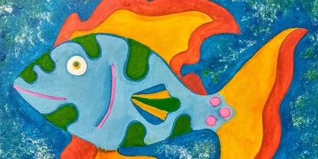 Wind Down Wednesday Fun Fish Painting Class in Lake Nona tickets