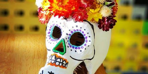 Dia De Los Muertos Sugar Skull Workshop At Rose's Tasting Room