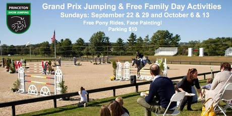 Grand Prix & Family Day @ Princeton Show Jumping! tickets