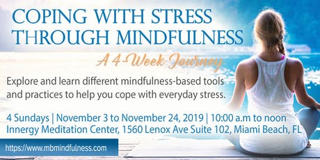 Coping With Stress Through Mindfulness tickets