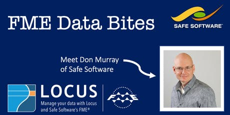 """FME Data Bites: An interactive session with FME co-founder Don Murray! tickets"