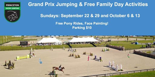 Grand Prix & Family Day @ Princeton Show Jumping!