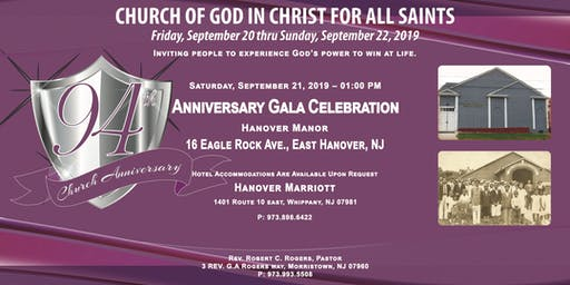 COGICFAS 94th Church Anniversary