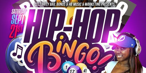 Hip Hop Bingo St. Pete 4th and Goal