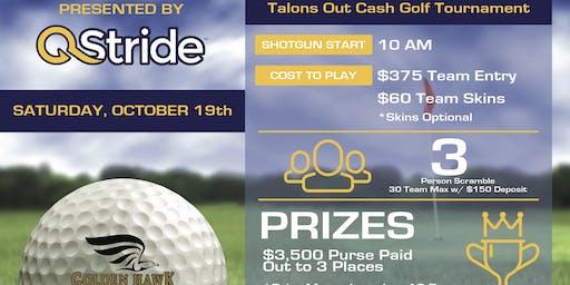 QStride Presents Talons Out $3,500 Cash Golf Tournament