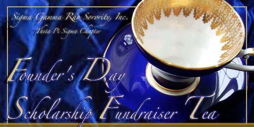 Founders' Day Scholarship  Fundraiser Tea