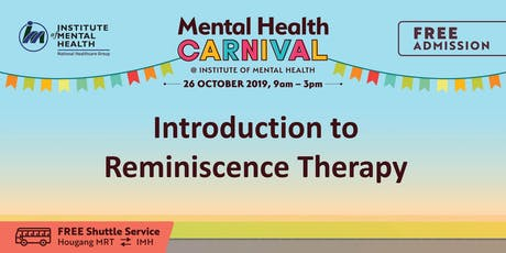 Introduction to Reminiscence Therapy tickets