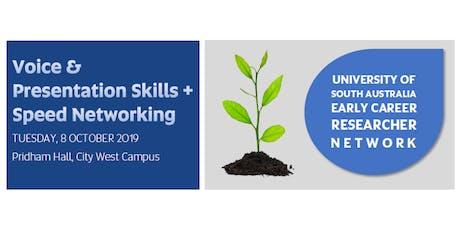 Voice & Presentation Skills Workshop + Speed Networking tickets