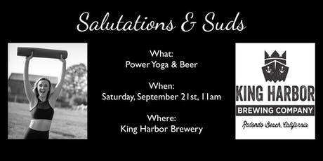 Salutations & Suds tickets
