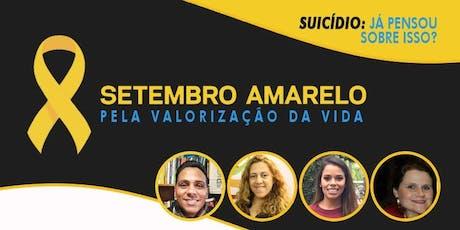 Suicídio: já pensou sobre isso? ingressos