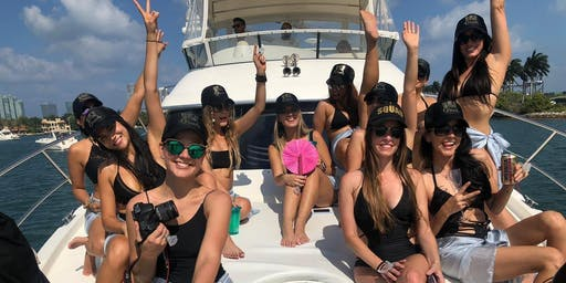 Yacht Rental - Boat Party Miami - Bachelorette or Birthday Ideas