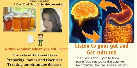 Listen to your gut and get cultured seminar tickets
