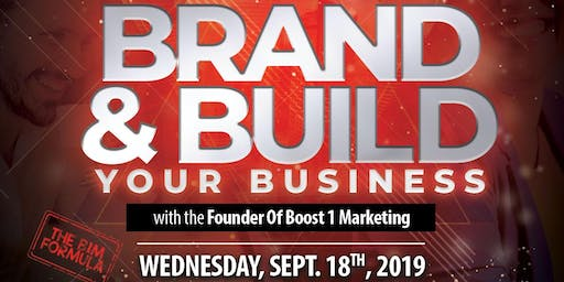 THE B1M FORMULA: Brand & Build Your Business With Boost 1 Marketing