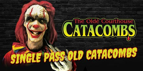 Single Pass Old Catacombs tickets