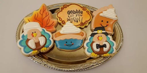 Thanksgiving level II cookie class