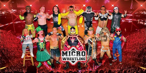 21 & Up Micro Wrestling at the Blue Iguana!