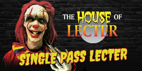 Single Pass House of Lecter tickets
