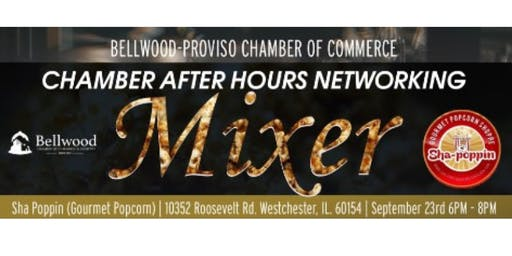 "Chamber Business After Hours ""Mixer"" at Sha-Poppin"