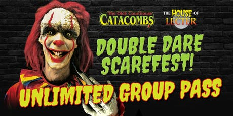 Group Pass - Old Catacombs & House of Lecter tickets