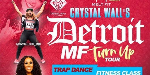 DETROIT  #MFTURNUP WITH CRYSTAL WALL