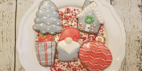 Christmas gnome cookie class tickets