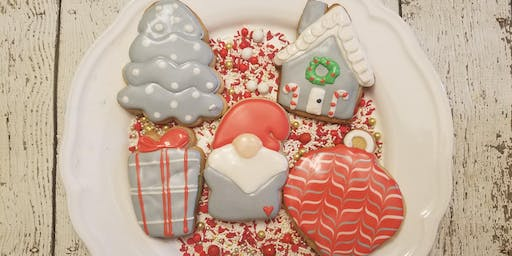 Christmas gnome cookie class