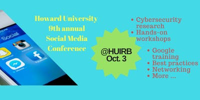 Ninth Annual Social Media Technology Conference & Workshop, Oct. 3, 2019