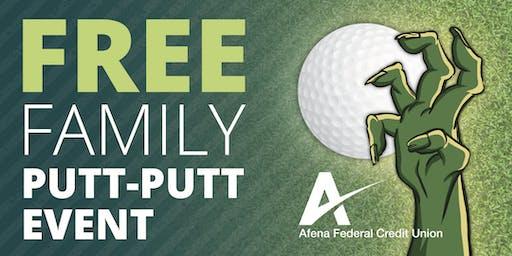 Free Family Putt Putt Event & Monster Mini-Golf Scramble