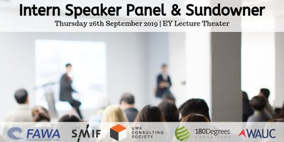 Intern Speaker Panel & Sundowner
