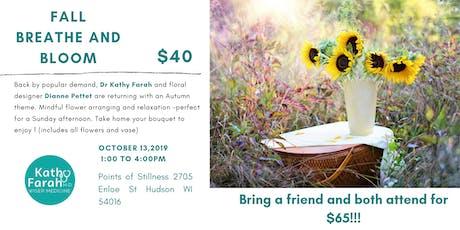 Wiser Medicine Workshop: Fall Breathe and Bloom tickets