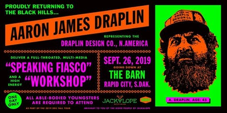 Aaron Draplin- DDC Workshop + Full-Throated, Multi-Media Speaking Fiasco tickets