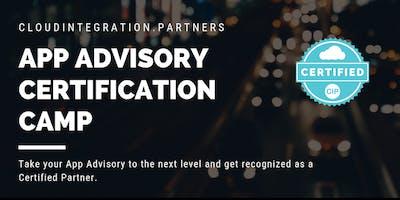 Advanced Melbourne CI Partners 2019 App Advisory Certification Camp