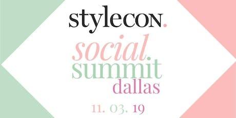 StyleCon Social Summit Dallas tickets