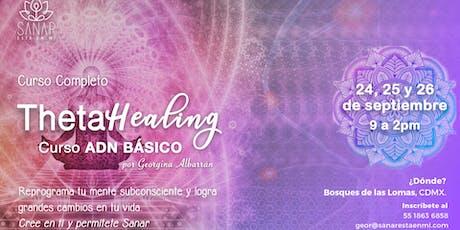 Theta Healing: Curso ADN BÁSICO entradas