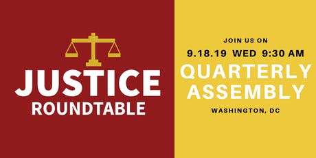 Justice Roundtable Quarterly Assembly tickets