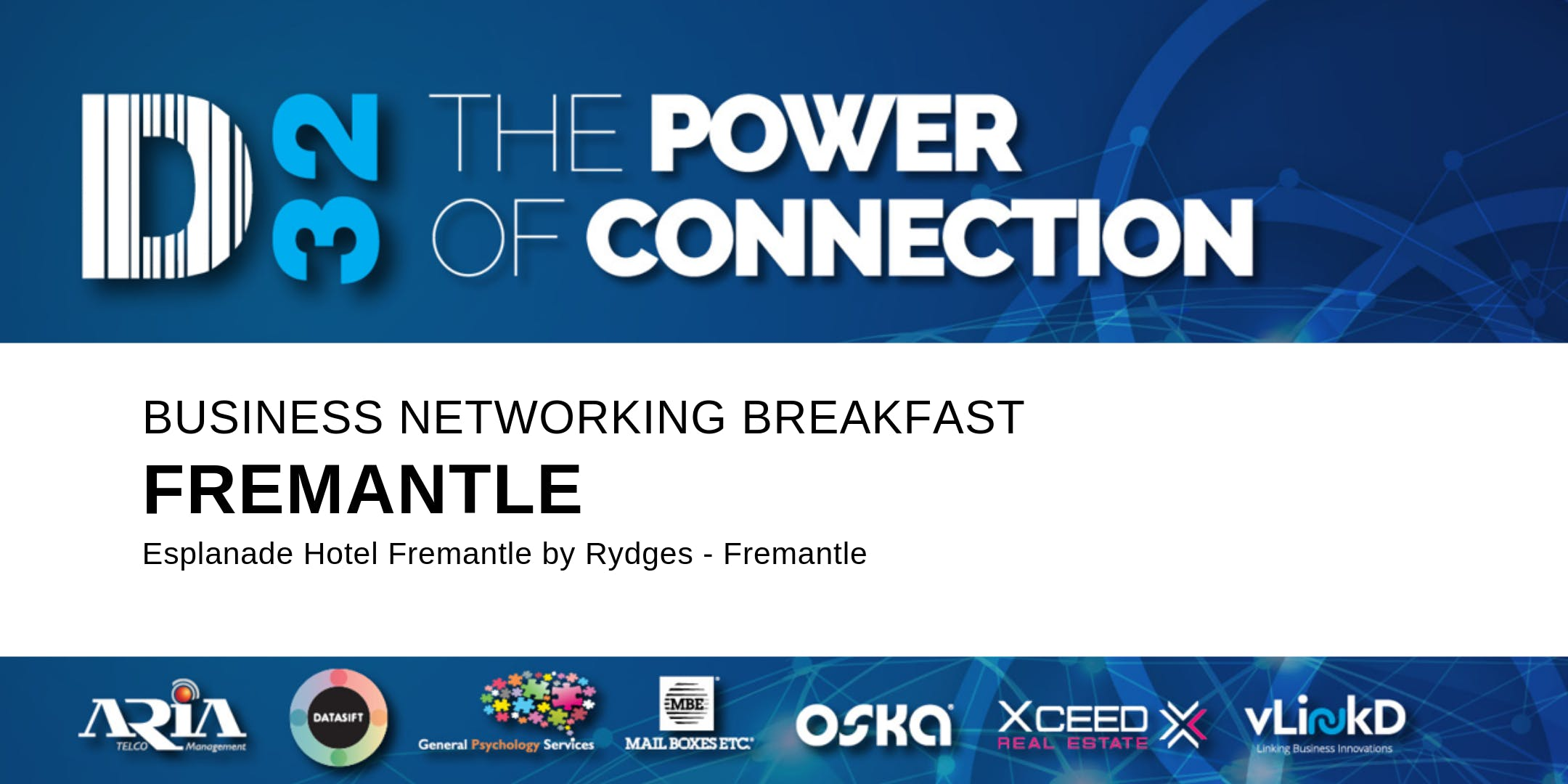 District32 Business Networking Perth  Fremantle - Wed 11th Dec