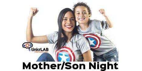 Mother/Son Night - Superhero Style