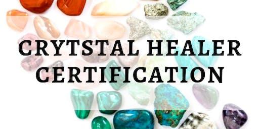3 Day Crystal Healer Certification Weekend