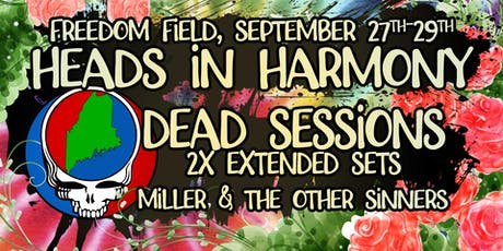 Heads in Harmony featuring Dead Sessions, Sept 27-29 tickets