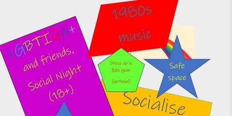 LGBTI 80's Night tickets